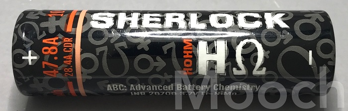 Battery Sherlock H ohm 28.4A 2782mAh 20700