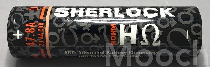 Battery Sherlock H ohm 28.4A 2782mAh 20700